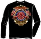 Erazor Bits FF2072 Firefighter Badge of Honor Long Sleeve T-Shirt