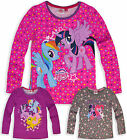 Girls My Little Pony T Shirt Kids Long Sleeve Top Brand New Age 3 4 6 8 Years