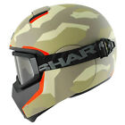 SHARK VANCORE STREET FULL FACE SCOOTER MOTORCYCLE HELMET +TINTED GOGGLES