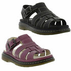 Dr Martens Shoes Genuine Carolyn Womens Leather Sandal / Shoes Sizes UK 4 - 8
