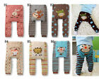 Cute Baby Toddler Boys Girls Cotton Animal Pattern Legging Tights Pants /BS