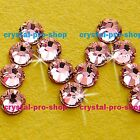 GENUINE Swarovski Light Rose (223) Crystal (No hotfix )Loose Flatback Rhinestone