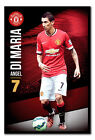 Framed Manchester United Angel Di Maria Poster New