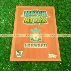 07/08 LIMITED EDITION MATCH ATTAX CARD 2007 2008 LTD