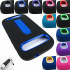 FOR ZTE GRAND S PRO/WARP SYNCH RUGGED HYBRID ARMOR IMPACT CASE COVER+STYLUS/PEN