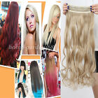 Long New One piece 3/4 Full Head Clip In on Hair Extensions real as human hair