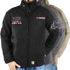 Geographical Norway UGHE Dicke Fleece Jacke Teddyfutter