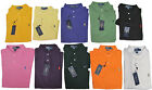 Ralph Lauren Mens Classic Fit Short Sleeve Pony Logo Mesh Knit Polo Rugby Shirt