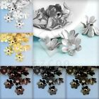 20g abt.60-70pcs Iron Flower Normal Bead Caps Jewelry Findings Wholesale 5mm HOT