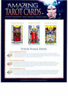 Personalised *AMAZING TAROT CARD READING * Print Certificate Scroll *Unique Gift