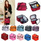 Portable Picnic Lunch Thermal Insulated Bag Ice Cooler Box Carrier Storage Pouch
