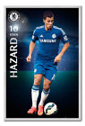 Chelsea FC Player Eden Hazard Framed Cork Pin Memo Board With Pins