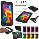 Samsung Galaxy Tab 4 7.0 T230 Tough HEAVY DUTY Shock Protective Survival Case