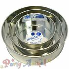 """Invicta 6"""" 8"""" 10"""" - Pack of 3 -High Quality Professional Cake Tins Pans/Bakeware"""