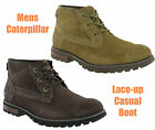 New Mens CAT Caterpillar Daniel Leather Ankle Chukka Fashion Boots Size 6-12