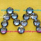 GENUINE Swarovski Silver Night (SINI) Crystal (No hotfix) Flat back Rhinestones