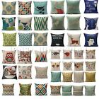 Animal Geometric Home Decor Sofa Throw Pillow Case Pillowcases Car Cushion Cover