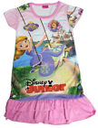 Disney Princess Sofia The First Children Kids Girls Dress Pajama Skirt 3-9Y Pink
