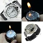 Cool Boy Mens Watch Butane Gas Cigarette/Cigar Lighter Refillable Wrist Watches