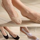 1 Pair Women Sexy Lace Antiskid Invisible No Show Low Cut Socks Boat Socks