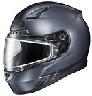 HJC CL-17 Streamline Frameless Dual Lens Snow Helmet Flat Black All Sizes