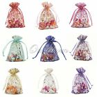 "50 Strong Organza Pouch 4""x 6""10x15cm Wedding Favor Gift Candy Jewelry Bag Decor"