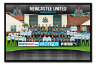 Framed Newcastle United FC Official Team Photo 2014 / 2015 Poster New