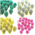 20 ROUND ACRYLIC BERRY BEADS 15mm approx - Beading Crafts - You Choose Colour