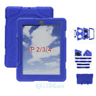 NEW Waterproof Survivor Shockproof Military Duty Hard Case Cover For iPad 2/3/4