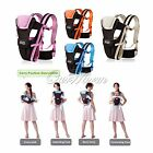 Ergonomic 4 Positions Carrier 3D Backpack Pouch Front Back Baby Infant With Belt