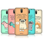 HEAD CASE THE SECRET LIFE OF FANTASTIC ANIMALS BACK COVER FOR HTC DESIRE 610