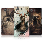 HEAD CASE POLY SKETCH SNAP-ON BACK COVER FOR SONY XPERIA Z3 COMPACT D5803