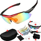 Bike Cycling Bicycle Sunglasses Eeywear UV400 5 Lens Replacement Goggles Glasses