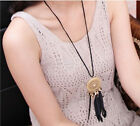occident fashion exquisite alloy hollow out Dreamcatcher feather necklace