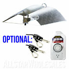 1x Adjust A Wing Large Reflector Series w/ Cord Grow Light Optional Rope + Timer
