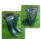Hunting Shooting Fishing Riding WELLINGTONS WELLIES Green for outdoor life (NLW)