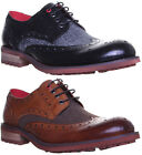 13307 Justin Reece Kennedy Mens Leather Matt Shoes