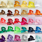 5/25yards double face side satin ribbon DIY hairbiw bow 3MM 6MM 9MM 16MM 38MM US