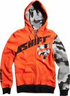 NEW SHIFT MX SUPPRESSOR RED FRONT ZIP UP HOODY HOODIE SWEATSHIRT MENS GUYS ADULT