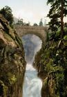 PC14 Vintage Photograph Bridge Of Spain Cauterets France Poster Re-Print A3/A4