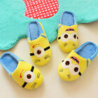 Despicable Me Minion Jorge Stewart Kids Plush Slippers Household Indoor Shoe