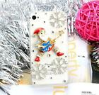 New Bling Diamonds Father Christmas XMAS Gifts Case Cover For Mobile Phone GT1