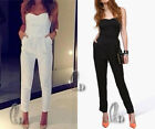 AU SELLER Womens Sexy Overall Jumpsuit Hippie Cocktail Office Party Pants ju003