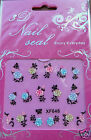 Nail art, Lace and Flowers, nail stickers. FREE P&P.  UK SELLER