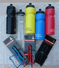 Bottle & Cage Drinks Water ETC Bottle & Raleigh Cage Cycling Bike Sports Fitness