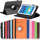 Rotating Case Cover For Verizon Ellipsis HP Stream 7 inch RCA Tablet Tab iRulu 7