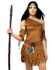 Pow Wow! Sexy Native American Indian Princess Womens Fancy Halloween Costume S-L