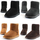 New Mooda Snow Winter Warm Womens Casual Leather Short Boots Shoes