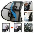 1pcs New Car Seat Office Chair Massage Back Mesh Lumbar Support Cushion Pad W