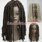 Dreadlocks Gothic Long Curls Rolls Hair Wig Costume Theatre Party Cosplay Wig